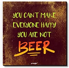 Seven Rays You are Not Beer Wooden Fridge Magnet