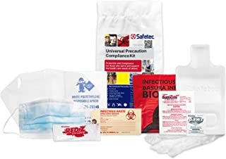 Universal Precaution Clean Up Kit in Poly Bag