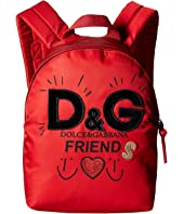 Dolce & Gabbana Kids - Friends Nylon Backpack