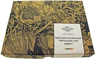 Milde Chilis mit viel Aroma - Samen-Geschenkset mit 5 aromatischen Chilisorten