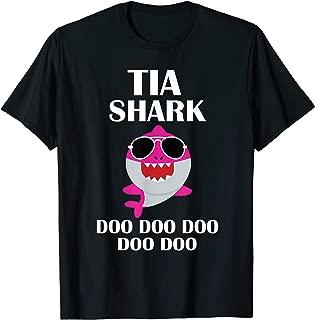 Tia Shark Shirt Doo Doo Doo Mothers Day Gift T-Shirt