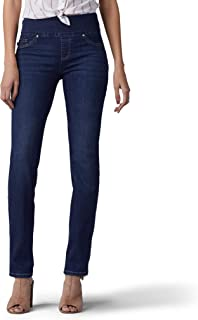 LEE Women's Sculpting Fit Slim Leg Pull on Jean