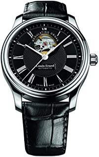 Louis Erard Heritage Collection Swiss Automatic Black Dial Men's Watch 60267AA42.BDC02