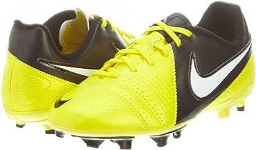 Nike Little Kids CTR360 Libretto III FG Soccer (5) Black, Yellow