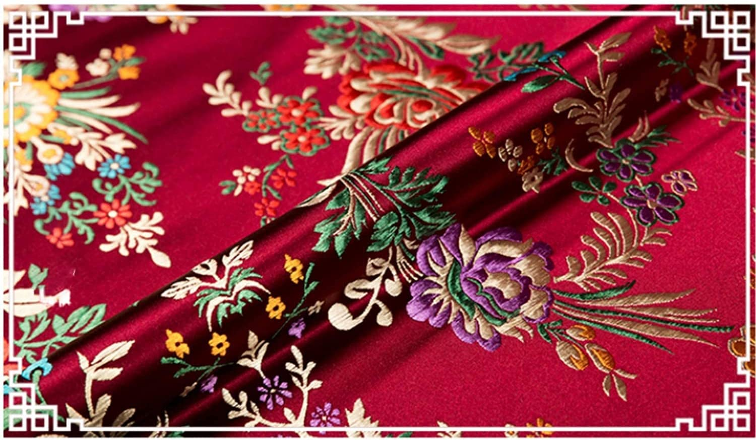 Translated Outlet sale feature ZHANGWJ Chinese Fabric Brocade Cloth High-End Begoni Silk