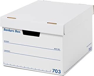 フェローズ バンカーズボックス 新703S A4サイズ 青 3枚1セット 収納ボックス ふた付き 1006001