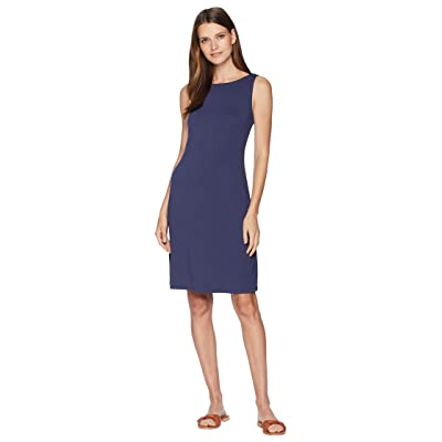 Tommy Bahama Drapey Ponte Sheath Dress (Ocean Deep) Women