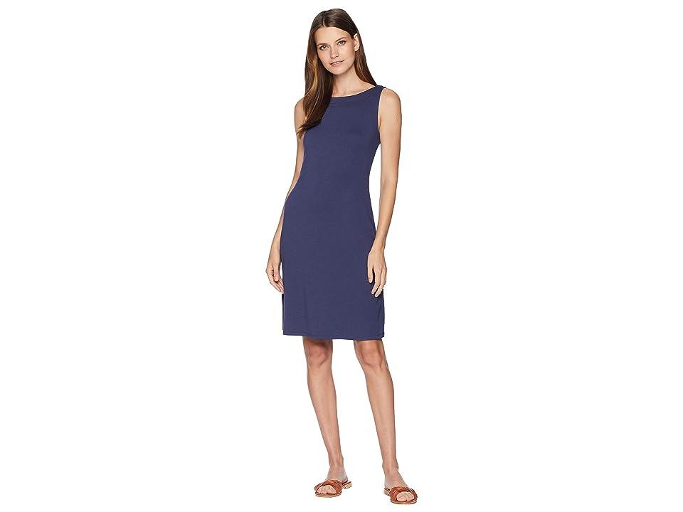 Tommy Bahama Drapey Ponte Sheath Dress (Ocean Deep) Women