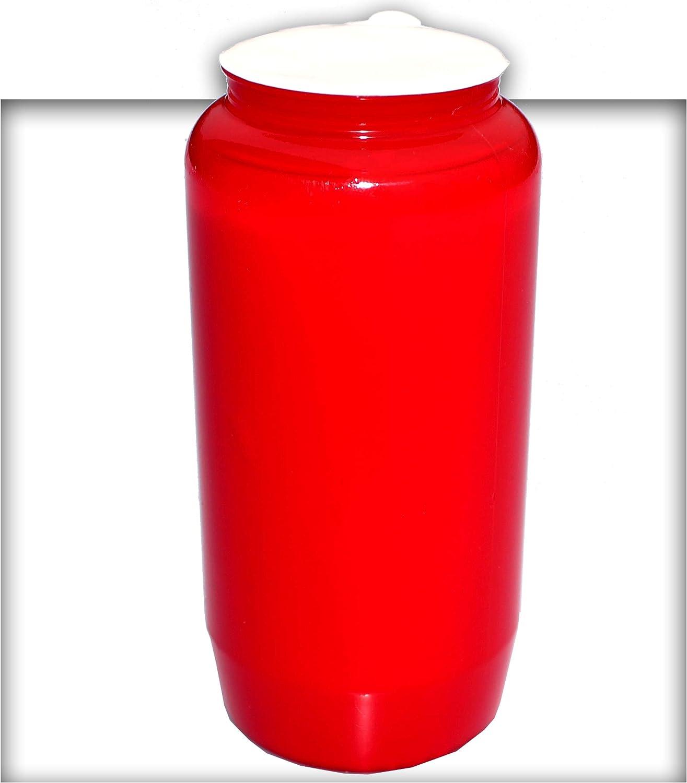 Kompositions Öl-Lichter, Nr.7 rot Grablicht Grabkerze Grablaterne 90 90 90 Stück B07NQLH6D9 63e6e6