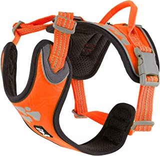 Hurtta Weekend Warrior Dog Harness, Neon Orange, 39-47 in