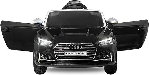 nuevo sádico Unbekannt Coche eléctrico para Niños Audi S5, S5, S5, 12 V, con Mando a Distancia, iluminación MP3  marcas en línea venta barata