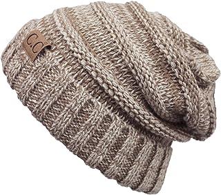ScarvesMe Trendy Warm Oversized Chunky Soft Oversized Cable Knit Slouchy Beanie
