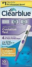 Clearblue Advanced Digital Ovulation Test, 10 Ovulation Tests