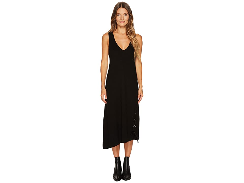 Neil Barrett Boiled Wool 7 GG Tank Dress (Black) Women