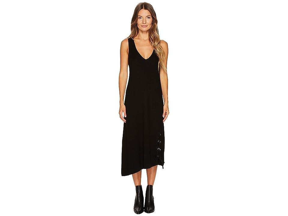 Neil Barrett Boiled Wool 7 GG Tank Dress (Black) Women