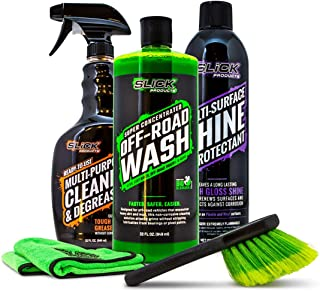 Off-Road Cleaning Products Bundle - Safe and efficient Cleaners Specially formulated for use on Dirt Bikes, ATV's, Off-Road Trucks, Jeeps, Rock Crawlers, and More.