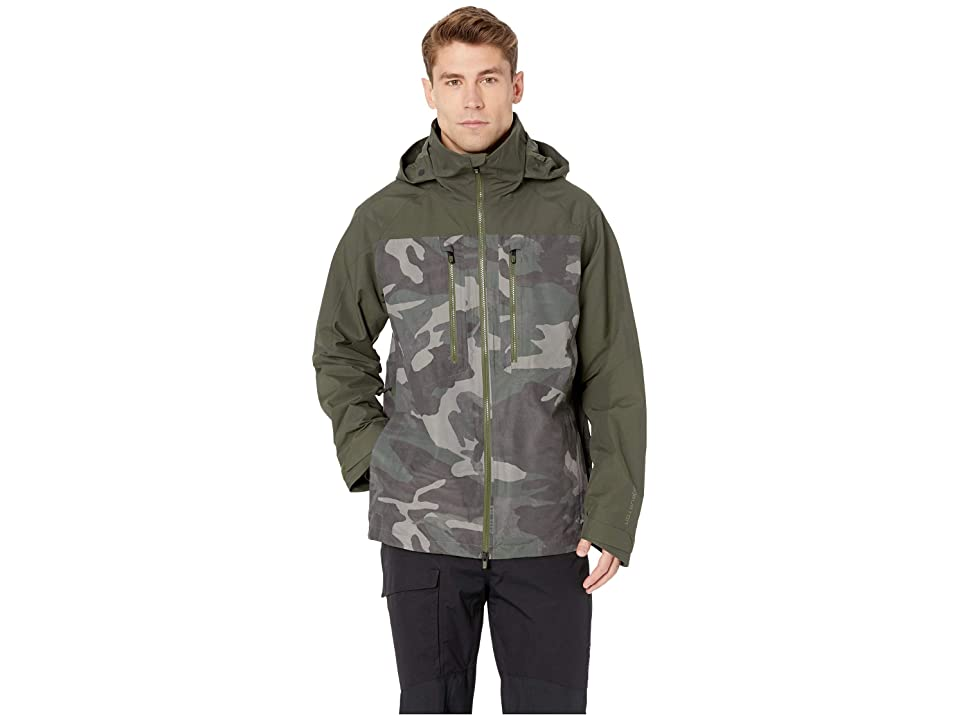 Burton [ak] 2L Swash Jacket (Wormwood Camo/Forest Night) Men