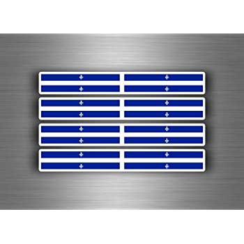 Akachafactory 4 X Selbstklebend Sticker Auto Moto Stripes Flagge Tuning Türkei Auto