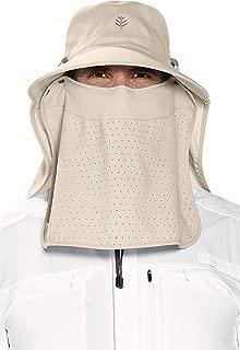 Coolibar UPF 50+ Women's Men's Stevie Ultra Sun Hat - Sun Protective