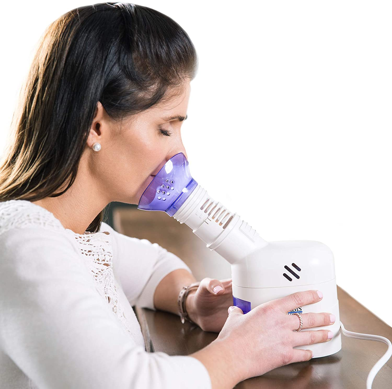 MABIS Columbus Mall Facial Steamer Steam Max 83% OFF Inhaler Vapori Humidifier Personal