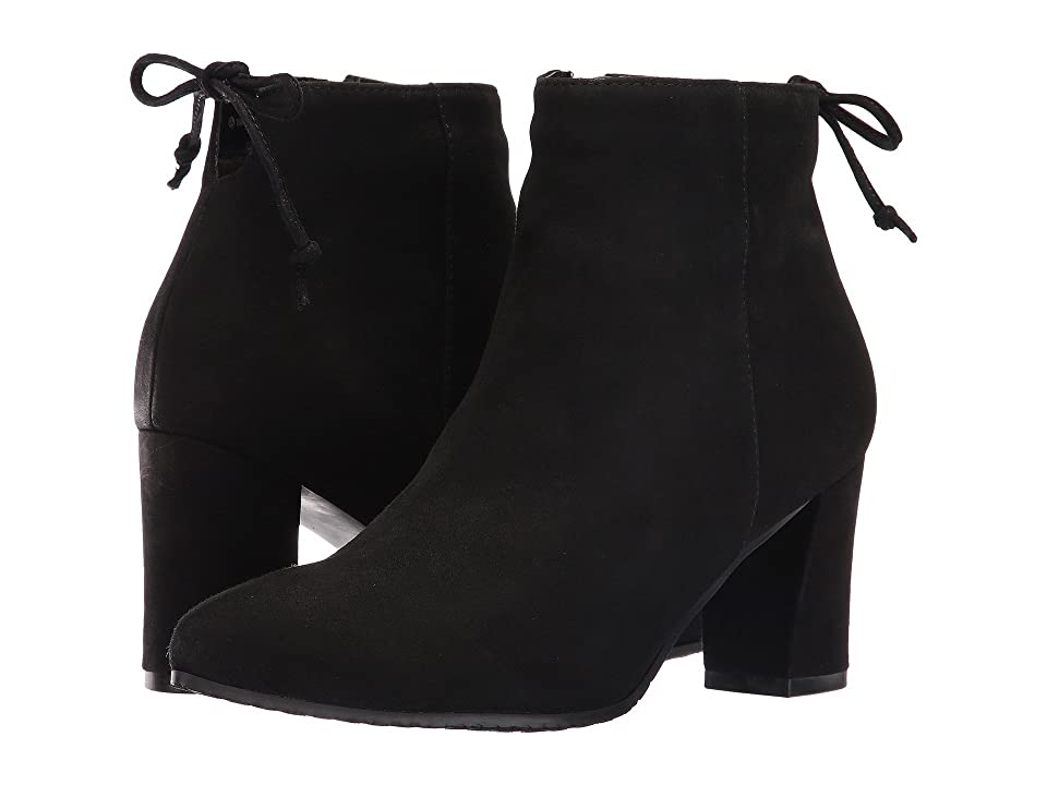 Blondo Tiana Waterproof Bootie (Black Suede) Women