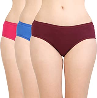 BODYCARE Women's Cotton Classic Panty(26D) Pack of 3