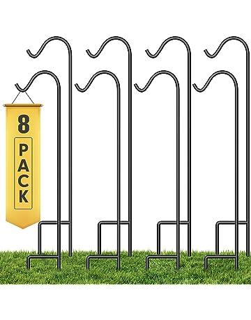 Black Insideretail 100111-48-1.0 1 m Insideretail Shepherds Hook Pack of 48