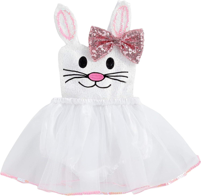 Infant Toddler Baby Girl Brand Cheap Sale Venue Romper Easter Bunny Dress Jumpsu Rapid rise