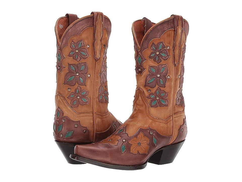 Dan Post Laurel (Tan) Cowboy Boots