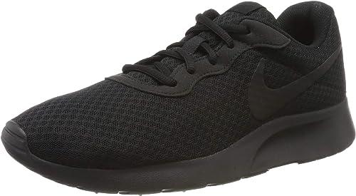 Nike Herren Tanjun Laufschuhe, Schwarz