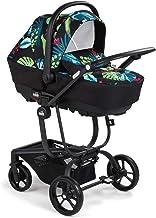 CAM 3 in 1 Kombikinderwagen TASKI SPORT | Kinderwagen/Buggy/Autositz in Einem | sicher & komfortabel | hochwertige Materialen - Made in Italy Laub farbig