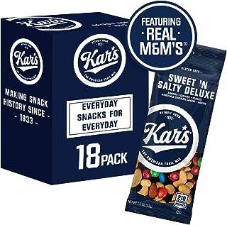 Kar's Nuts Sweet 'N Salty Deluxe Trail Mix Snacks Bulk Individual Single Serve Bags (Pack of 18)