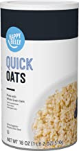 Amazon Brand - Happy Belly Quick Cook Oats, 18 oz
