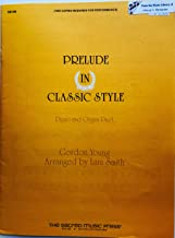 Best prelude in classic style gordon young organ Reviews