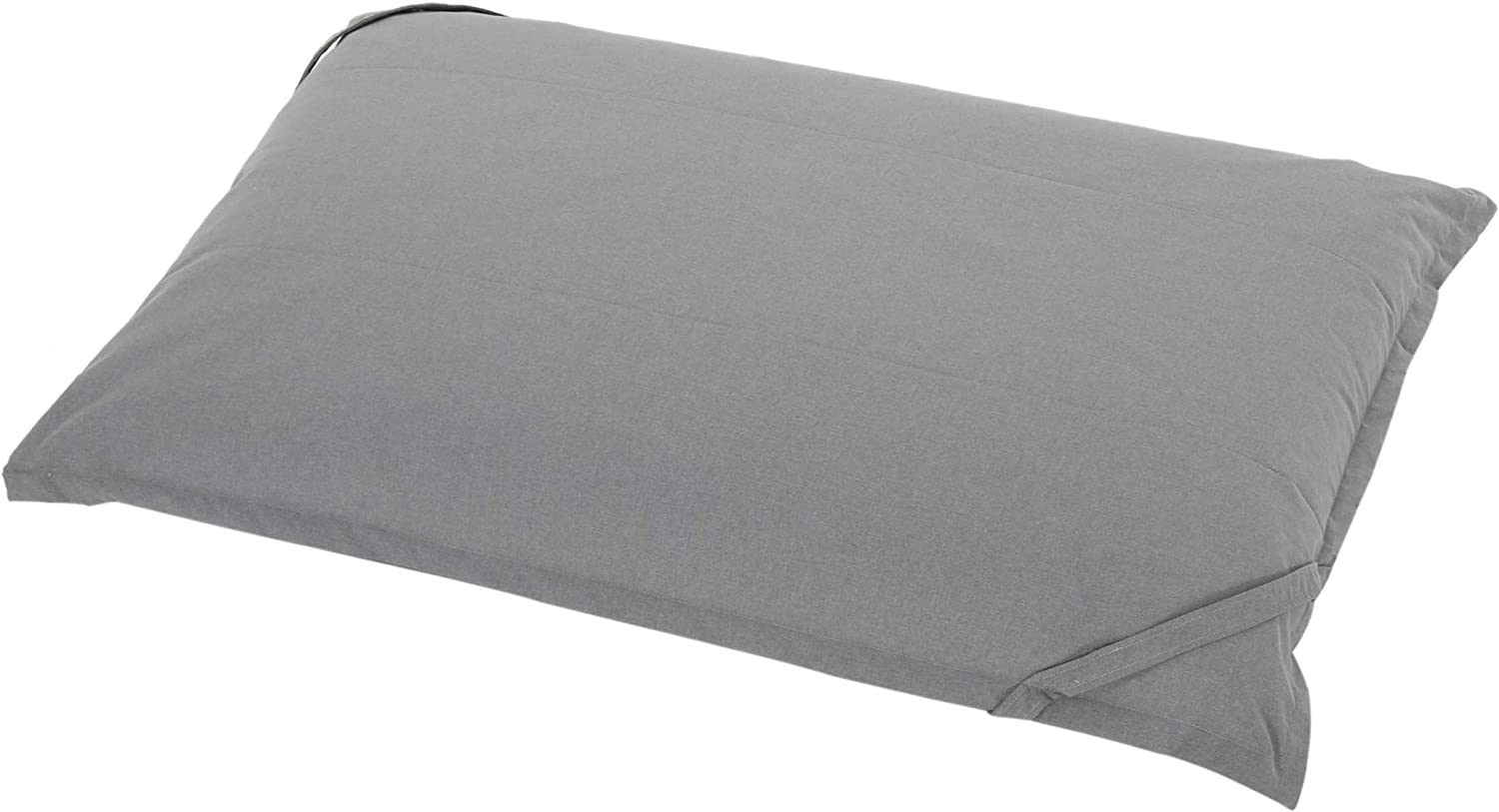 Christopher Knight Home Renata Indoor Water Resistant 5.5'x4' Lounger Bean Bag, Charcoal