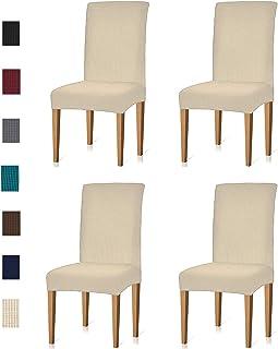 comprar comparacion Jacquard Comedor Silla Fundas Fundas Fundas protectoras de muebles elásticos para el sillón Funda elástica extraíble lavab...