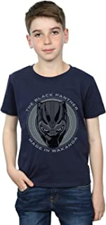 Marvel Niños Black Panther Made in Wakanda Camiseta