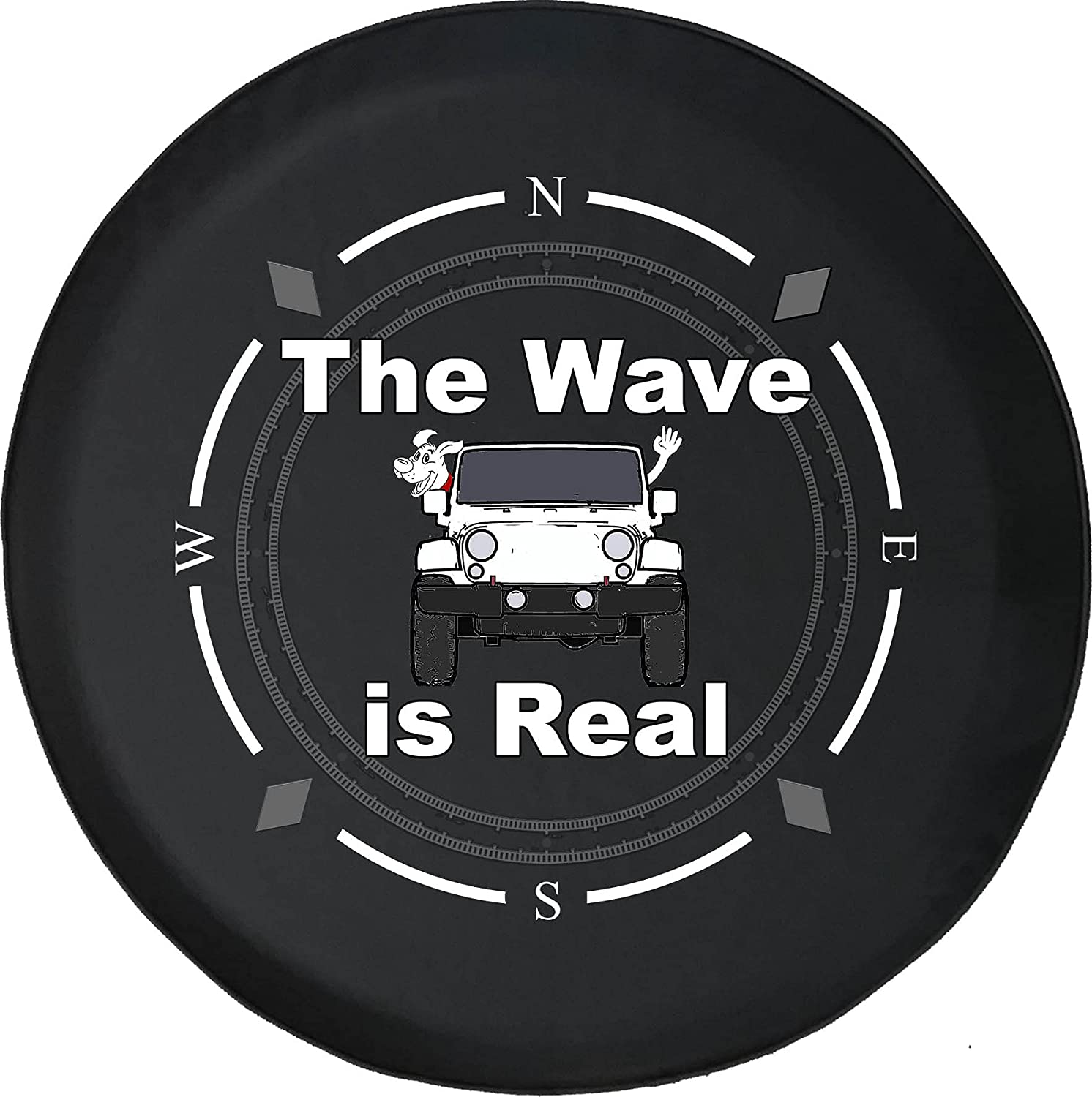 Spare Tire Courier shipping free shipping Cover Compass Dog Paw At the price Real SUV or Fits Wave RV Camper