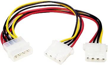StarTech.com LP4 to 2X LP4 Power Y Splitter Cable M/F - LP4 Splitter - Molex Y Splitter - Molex Splitter