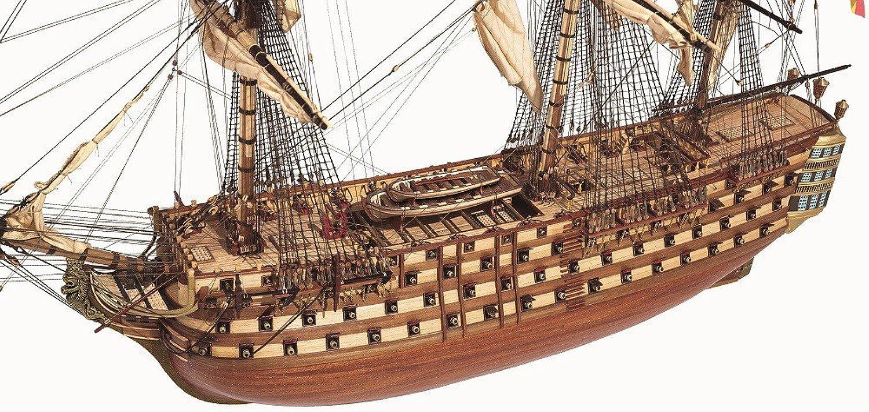 Venta en línea de descuento de fábrica Occre 15800 - Kit para para para montar Barco navío santísima trinidad  varios tamaños