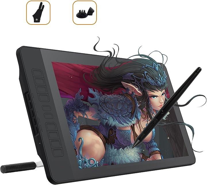 Gaomon pd1560 15,6 pollici schermo con 10 tasti di scelta rapida e 8192 livelli stile wireless digitale A2.PD1561-PD1161-0-EN0000-0-EU