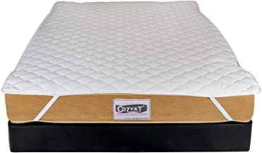 """Cozyat Quilted Mattress Protector (78"""" x 72"""")"""