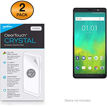Residue-Free Removal accurately Fitting Simple Assembly Bedifol 6X Savvies Ultra-Clear Screen Protector for Bulls Green Mover Lacuba Evo 8 2017