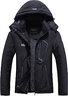 ژاکت اسکی زنانه Pooluly ژاکت ضد آب ضد آب زمستان گرم و کت دار کت اسنوبورد