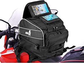 SEEU Motorcycle Tank Bag with Strong Magnetic/strap Mount, Water Resistant Reflective