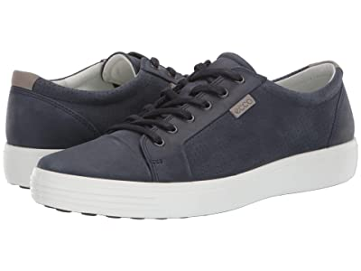 ECCO Soft 7 City Sneaker (Marine) Men