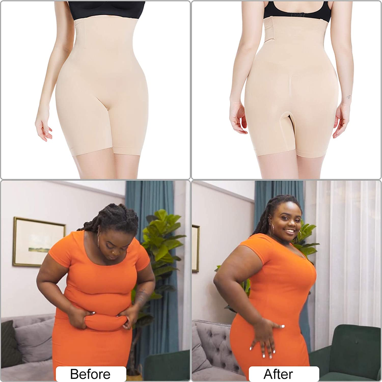 Body Shaper Shorts for Women Tummy Control Shaperwear Panties Slip Shorts Under Dresses Slimming Underwear at  Women's Clothing store