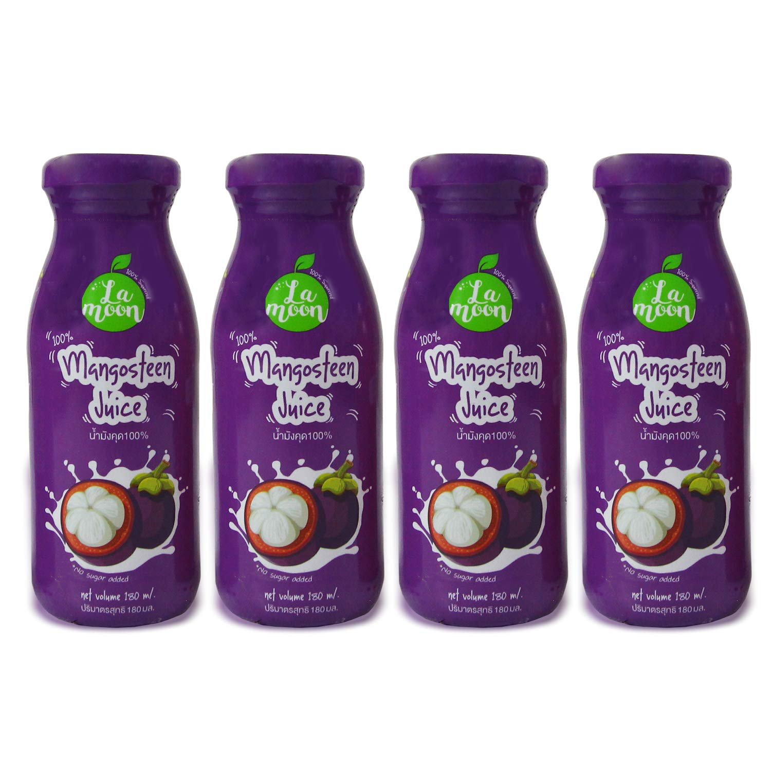 LaMoon Outstanding 100% Squeezed Mangosteen Juice Mangost mL in Bottle 180 Don't miss the campaign