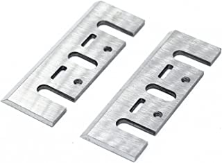 YUFUTOL HSS Replacement Planer Blades/Knives For Hand-Hold Portable Electric Planer Machine, 3-1/4 Inch Long (82mmx29mmx3mm), Pack of 2