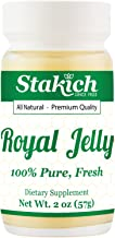 Sponsored Ad - Stakich Fresh Royal Jelly - Pure, All Natural - No Additives/Flavors/Preservatives Added - 2 oz (67g)